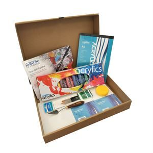 A3 Acrylic Art Box Set