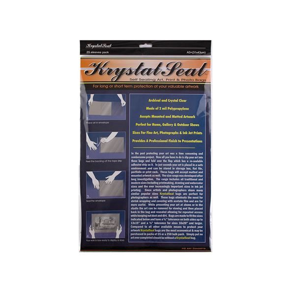 Krystal Seal Sleeves - A3 pack