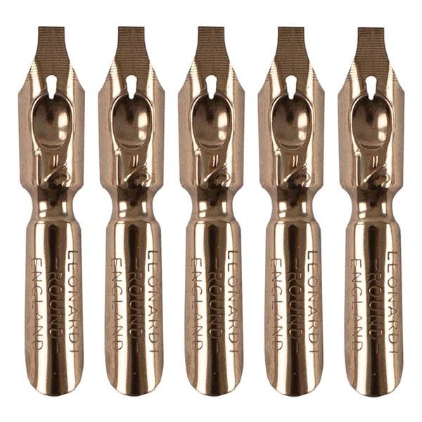 Drawing Nibs x5, Roundhand, Size1 A1/2 DACNIB231