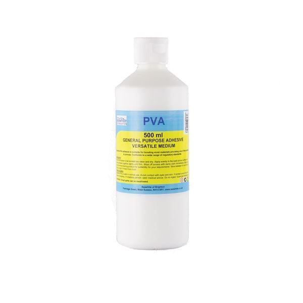 General Purpose PVA & Medium - 0.5 litre bottle PVA0.5LT