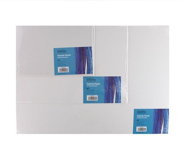CANPAN2 A2 Primed Canvas Board - 5 Pack