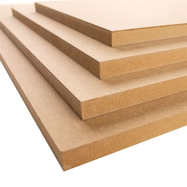 12mm MDF Boards - A4, pack of 4 MDFA4