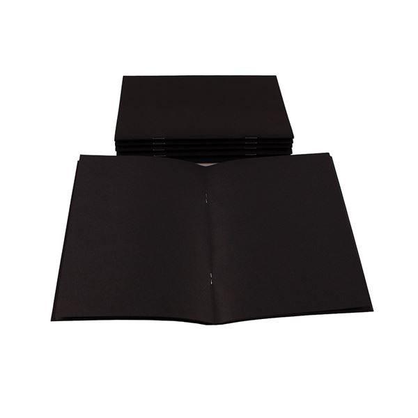 A5 All Black Starter Sketchbook STA5BCB