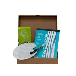 Acrylic Art Box Set