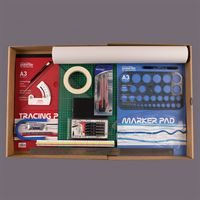 Architecture Kit KIT08 - Displayed in Storage Box