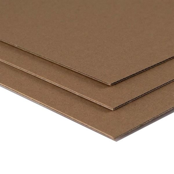 MBKRA1 A1 Corrugated Kraft 25 sheet pack