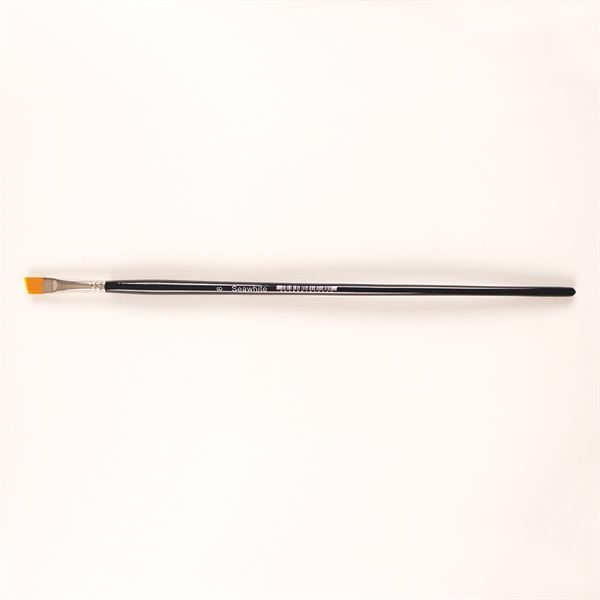BSYSA8 Golden Synthetic Angled Brush - Size 8