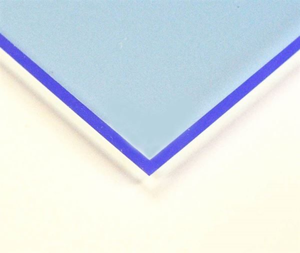 Neptune Blue 3mm Florescent Acrylic Sheet A3 ACR3FBLA3