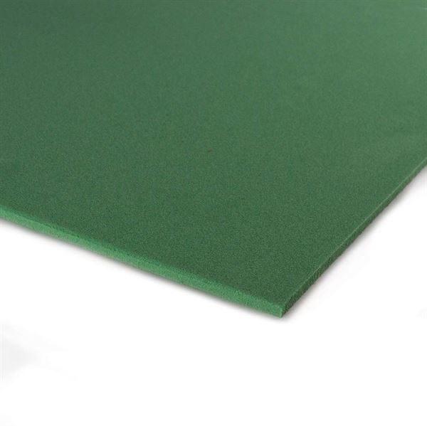 PLAZ6G Plastazote 6mm Thick 500 x 500mm Green