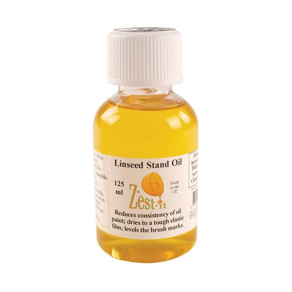 'Zest It' Linseed Stand Oil 125ml PTZLSO