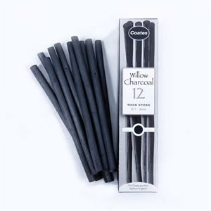 DACHTK 12x Thick Sticks Charcoal