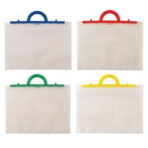 A4+ Polyholdall (no insert) with Blue, Green, red, Yellow Handle POLYA4-